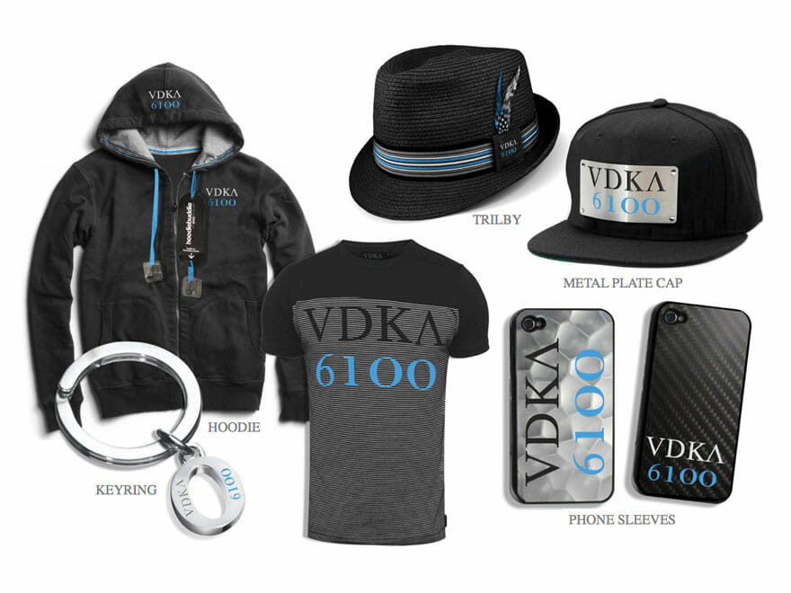 Vodka 6100 Launch Gear
