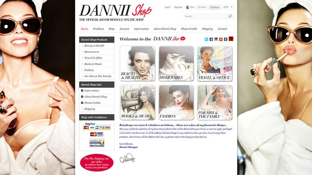 Dannii Shop Online Store